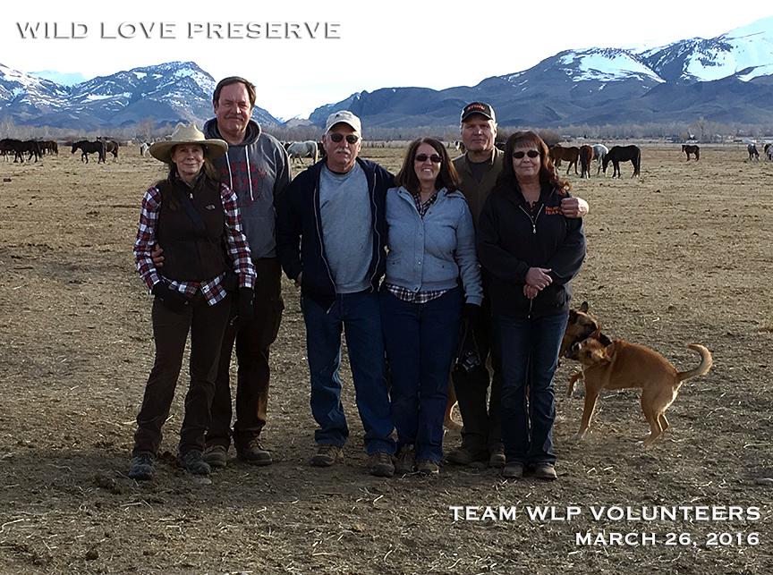 WLP Volunteers: Bonnie and Steven Garman, Bob and Pat Pasley, Steve and Jan Adams.