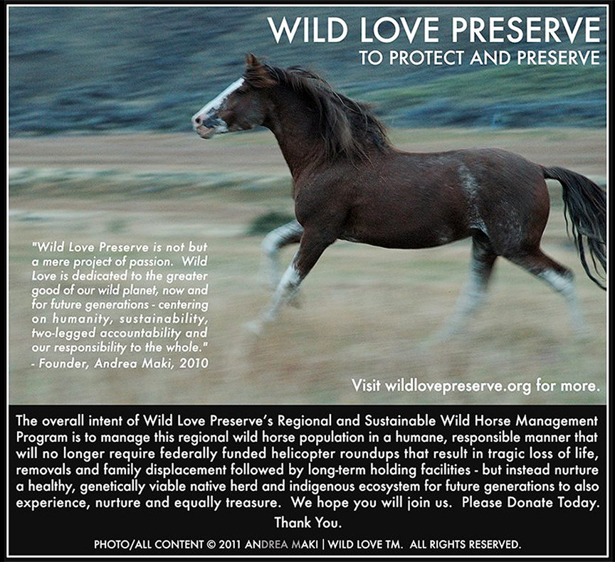 Wild Love Preserve as seen in Sun Valley Magazine, Summer 2012.