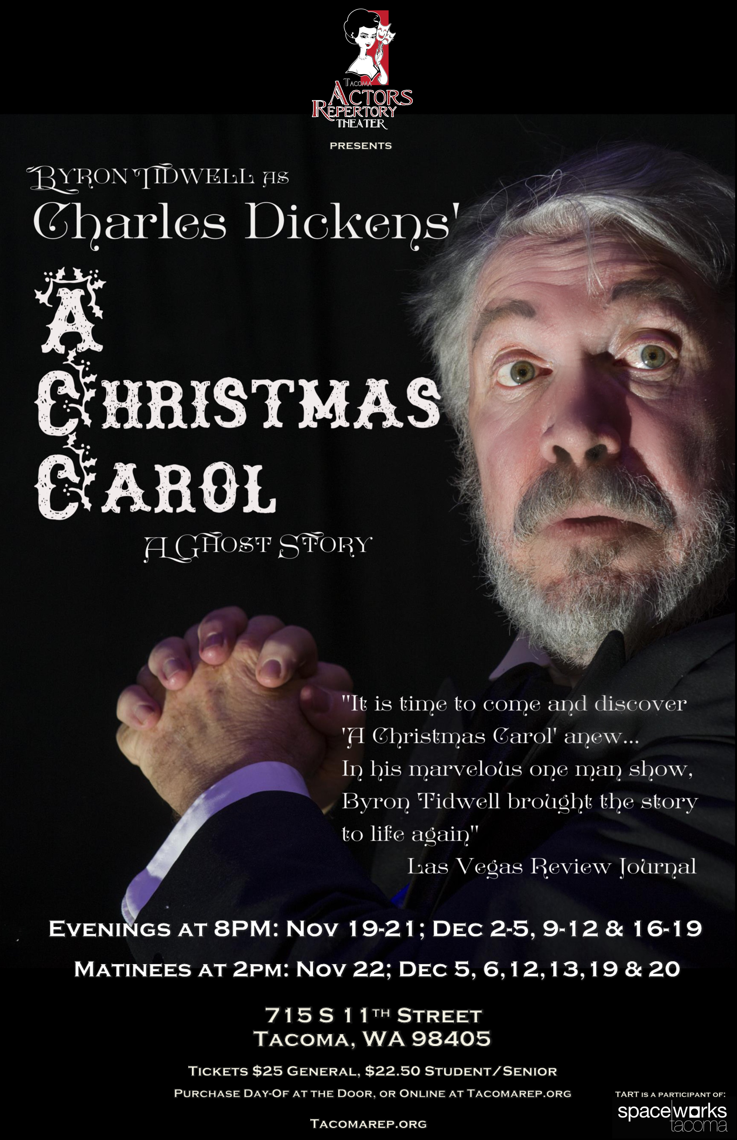 Byron Tidwell as Charles Dickens