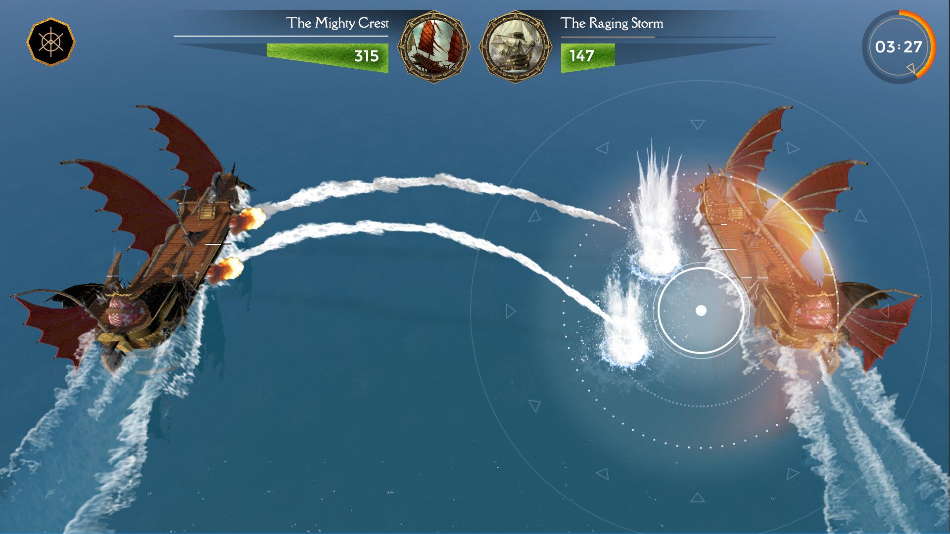 Ships Battle - Mobile Game UI