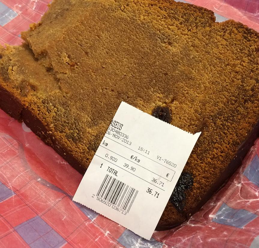 The apricot breadand receipt
