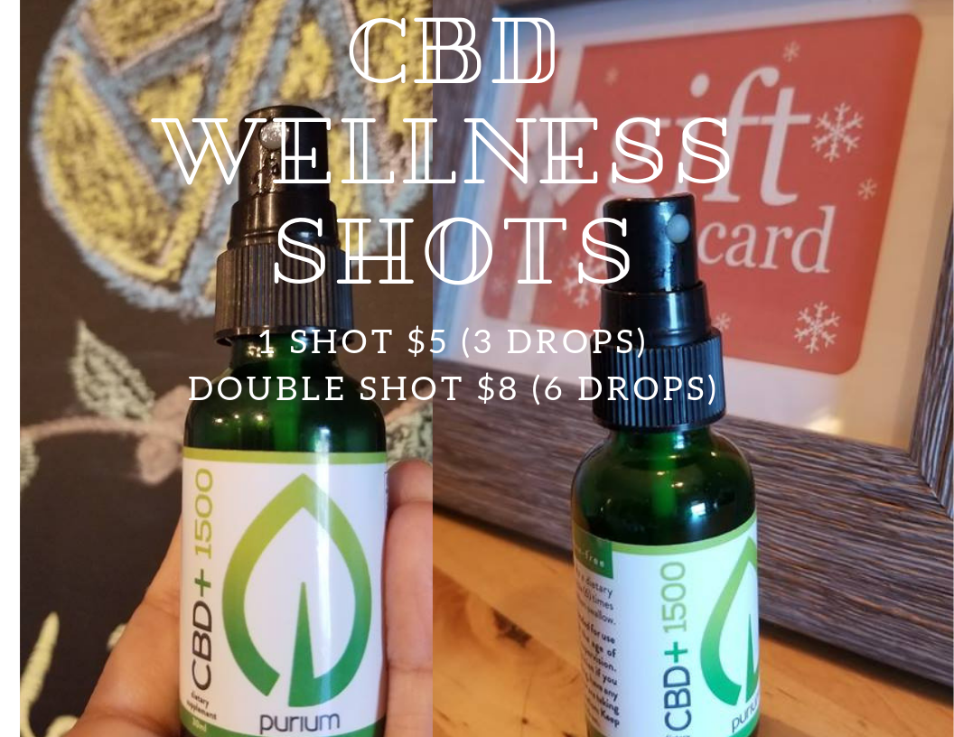 Enhance your class with a Wellness shot sold at the front desk!!