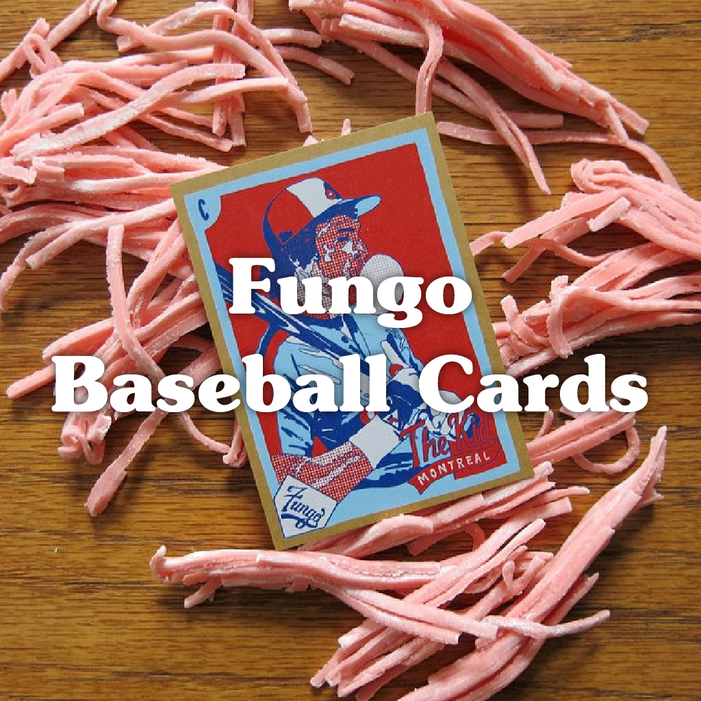 Fungo Baseball Cards