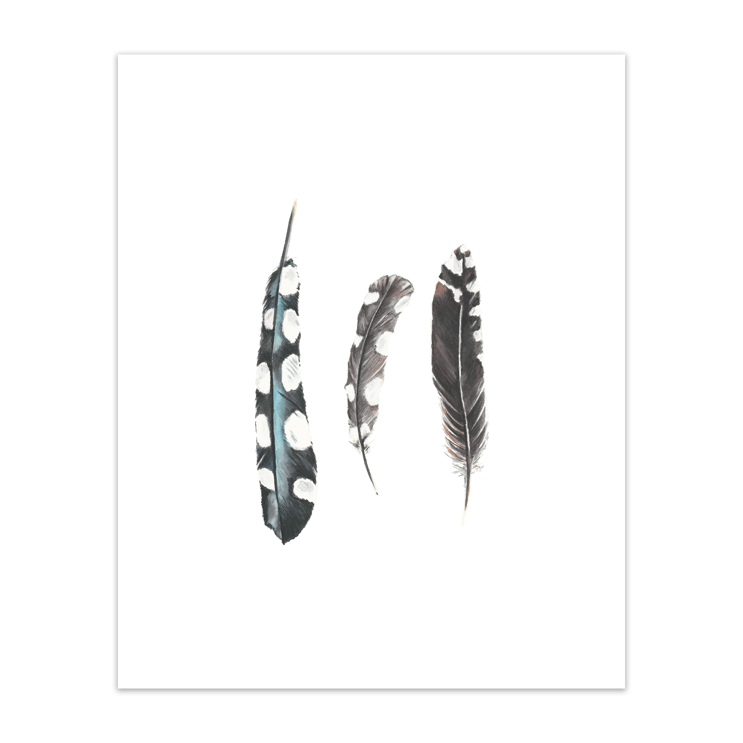 """Woodpeaker Feathers <br> <span style= """"font-size: 0.75em;""""> 🔴  SOLD </span>"""