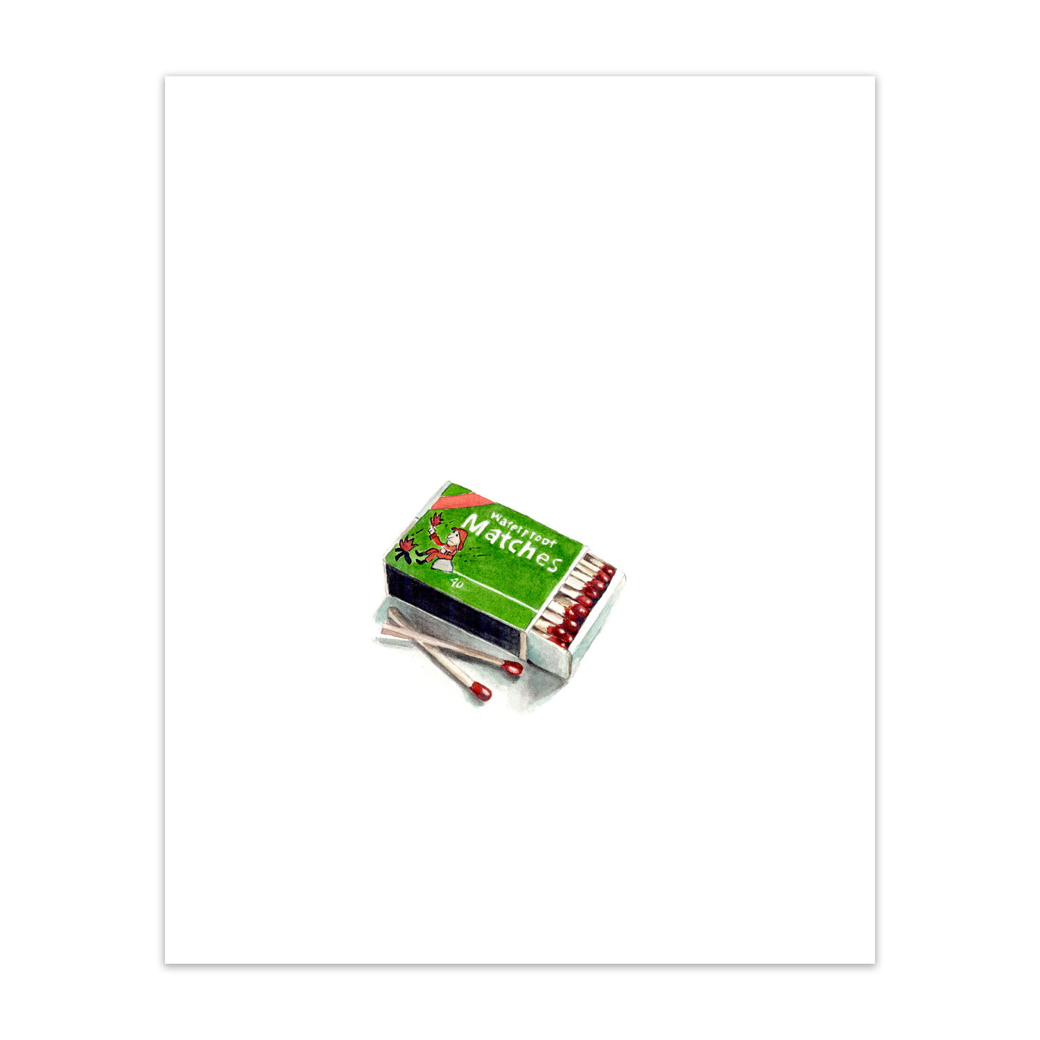 """Waterproof Matches <br> <span style= """"font-size: 0.75em;""""> 🔴  SOLD </span>"""