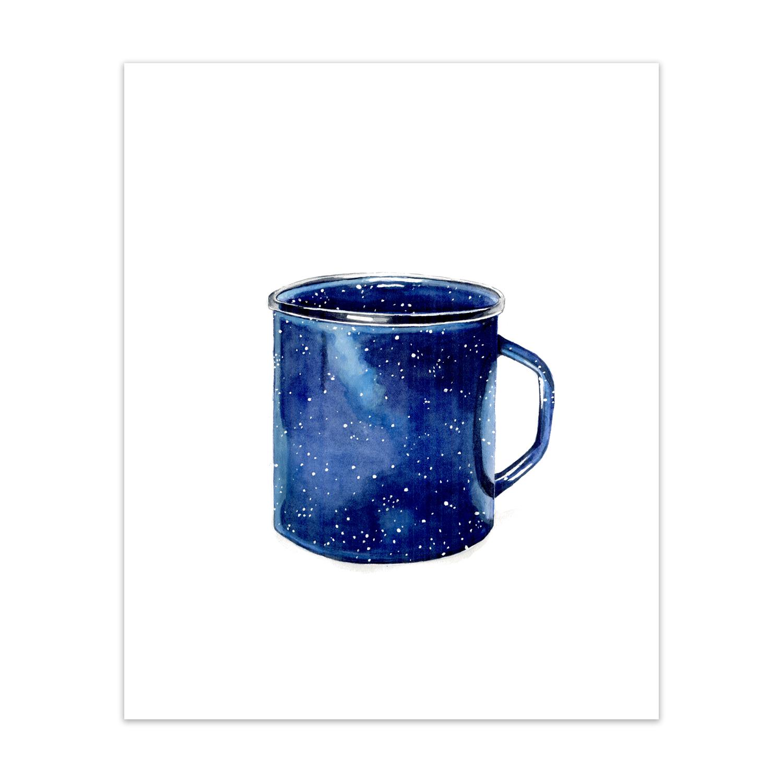 """Enamel Mug <br> <span style= """"font-size: 0.75em;""""> 🔴  SOLD </span>"""