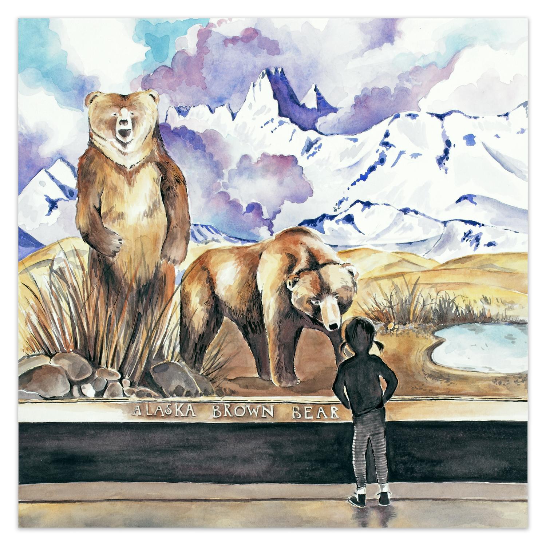 Alaskan Brown Bear  🔴 SOLD