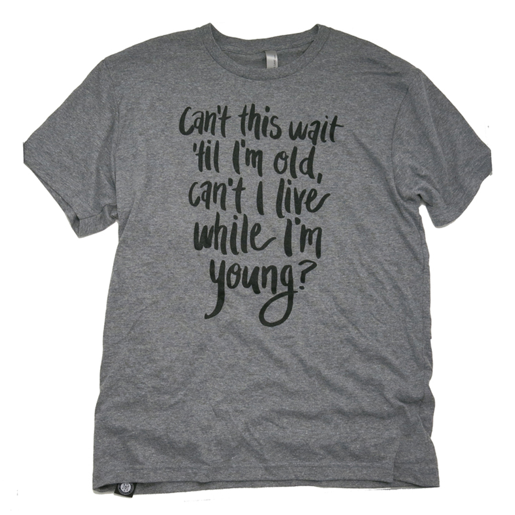 Can't This Wait?(Adult) T-Shirt