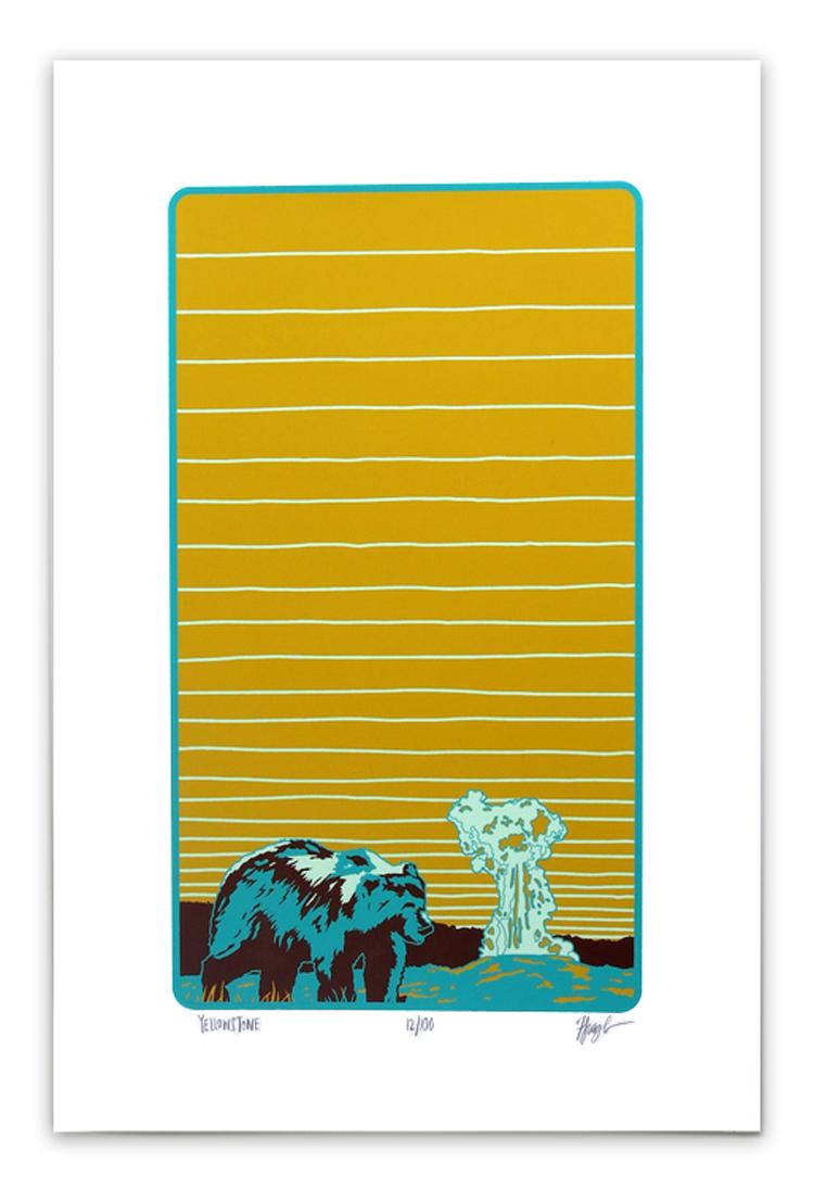 Yellowstone Print