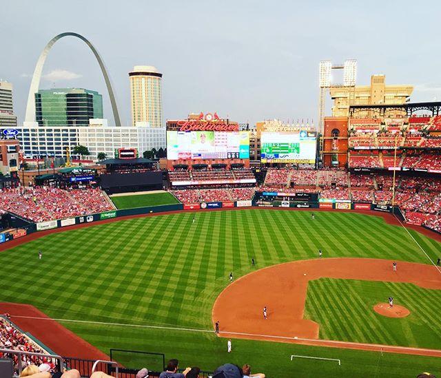 St. Louis Baseball. #mfcfieldtrip