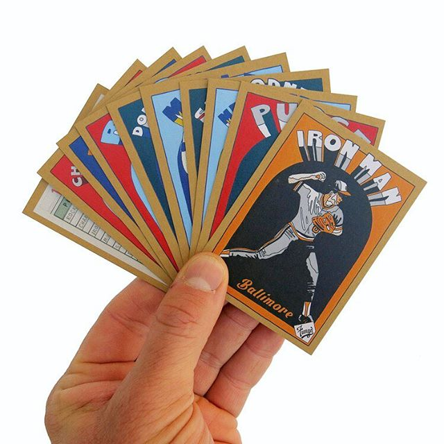 Never had a chance to snag a set of 1985 Fungo Baseball Cards? Don't get caught looking... get your set before Saturday night! Shipping early next week... #fungobaseballcards