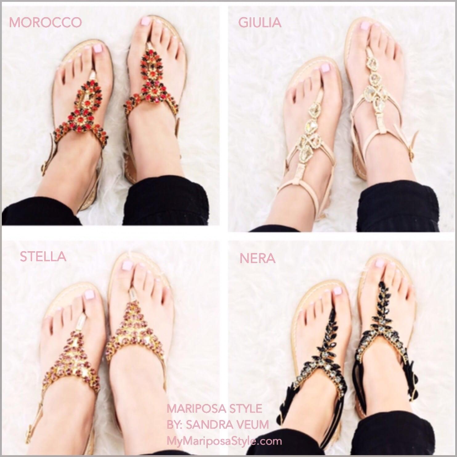 Azzurra Capri Boutiques 2016 Sandal Collection!
