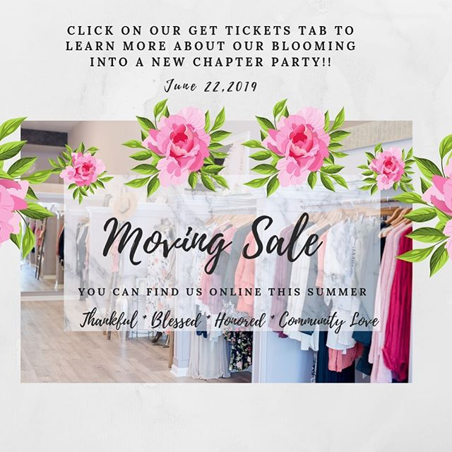 ✨💛🌙La Lune Loves we want to include you on a new exciting chapter! Most of you have followed us the last five years of our fashion journey, and watched us grow from online, into doing pop-ups all over the Bay, to opening our first little location in the Opera House Down Town Los Gatos, to our dreamy 78W. Main ST. location. We Loved being in Los Gatos the last four years, it'sbeen an absolute blessing, and we are so happy to have built up such an amazing community with you guys. We have decided though it's time to move on to our next chapter for our Biz. •✨Let's not say our Goodbyes, because will be updating our online services like back in the day to make sure you can still get your fashion fix from us, and also to see where you can connect with us again in person by events. Follow our Monthly emails to see where will be doing fun pop up's, and also where we will be doing women's conferences. •✨Because of this new chapter we are blooming into we want to let you in on some huge savings for different things in the store. We will be selling all our seasonal home decor, accessories, and clothing at a special discounted price this ALL THIS month. We will be putting most online after just in case you missed out. •✨Last but not least we thought it would be fun to throw a tribute party to our location, and a new chapter thank you party for all of you. We have been so blessed to have grown such a beautiful community alongside of us all these years, and we can't wait to take you along our new journey. Click on the link to come to our New Chapters Event Night. We hope to see all of you, and give you some epic sales on what's left of our inventory.