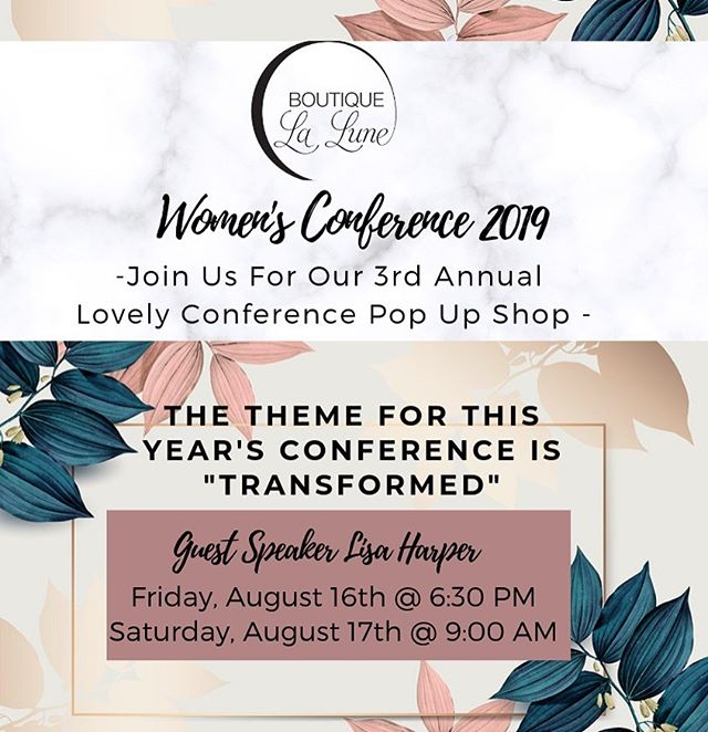 ✨Stay Tuned for this weekends Transformation/ Pop Up Shop 🦋✨We can't wait to see what the @sistersfcc have planned for this inspiring Women's conference!!#womenempowerment #bringitladies