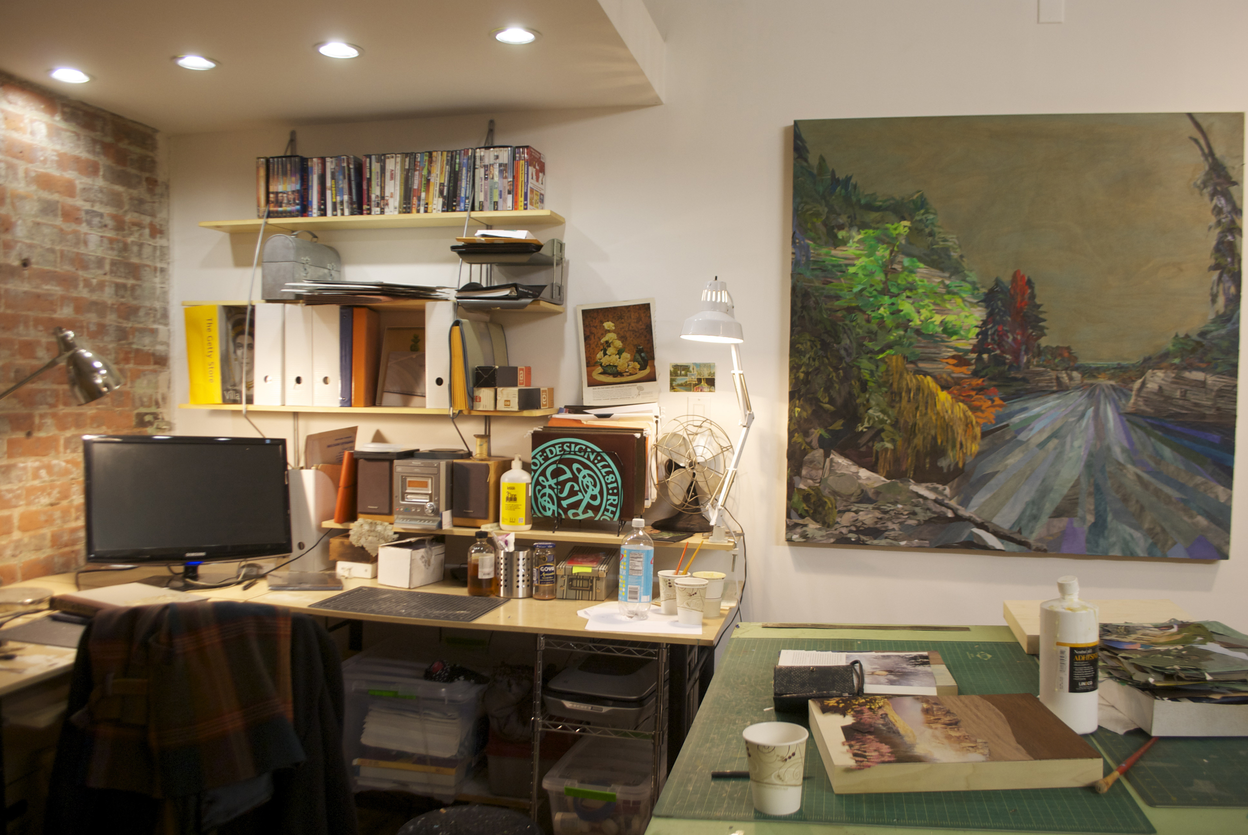 My Studio, Greenpoint Brooklyn