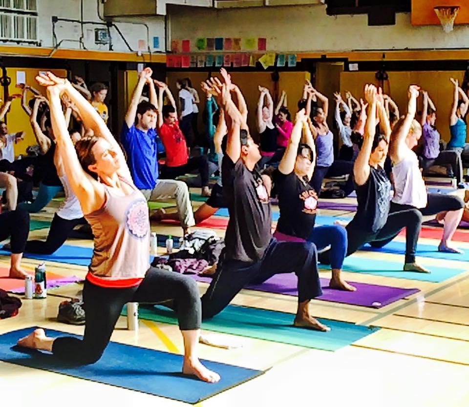 Go Sri Yoga Team!