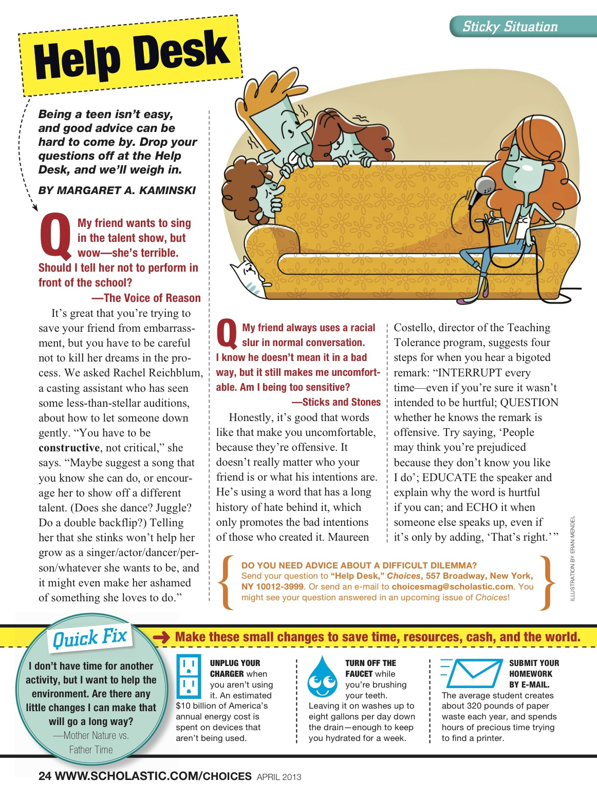 Choices Magazine