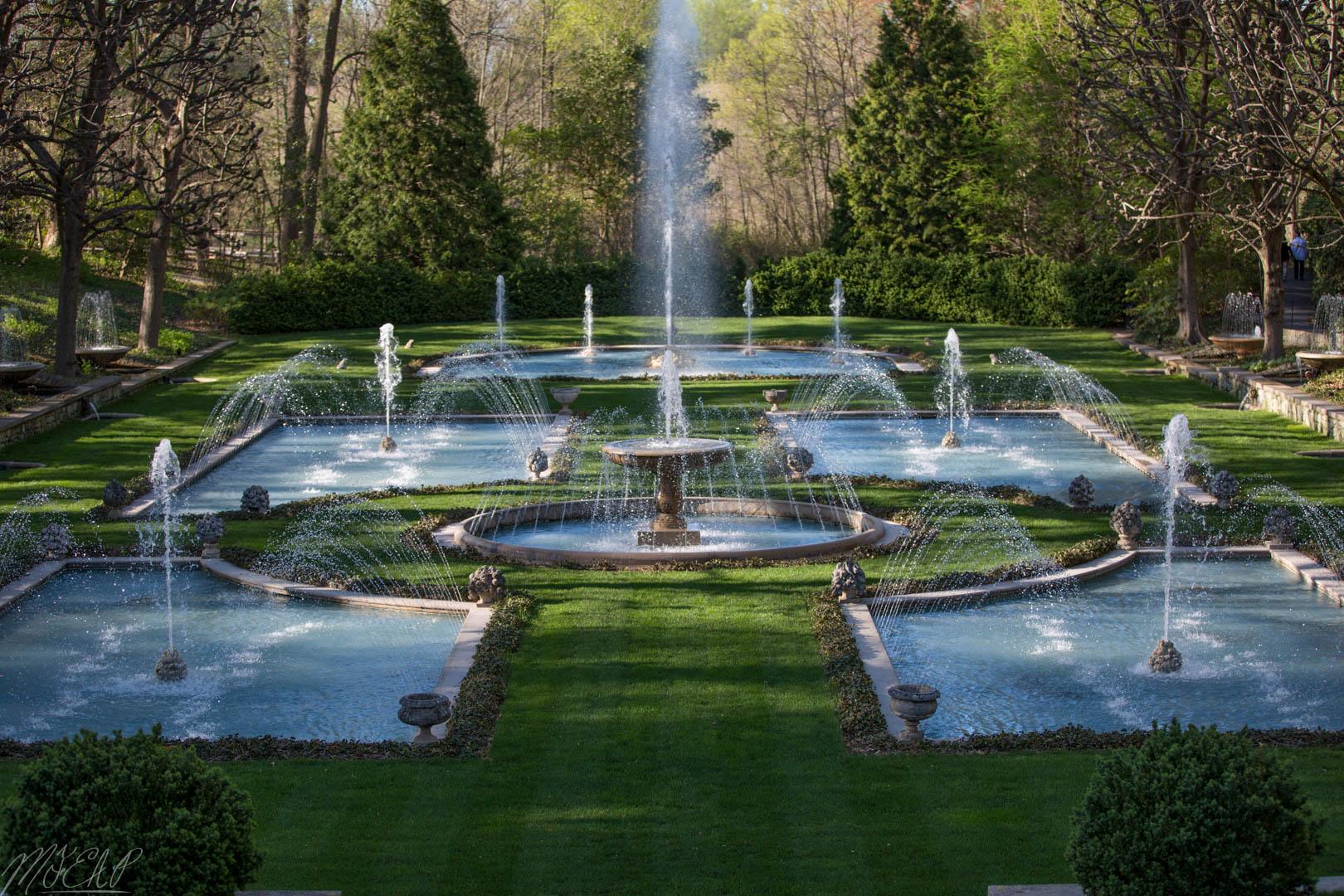 Italian water garden