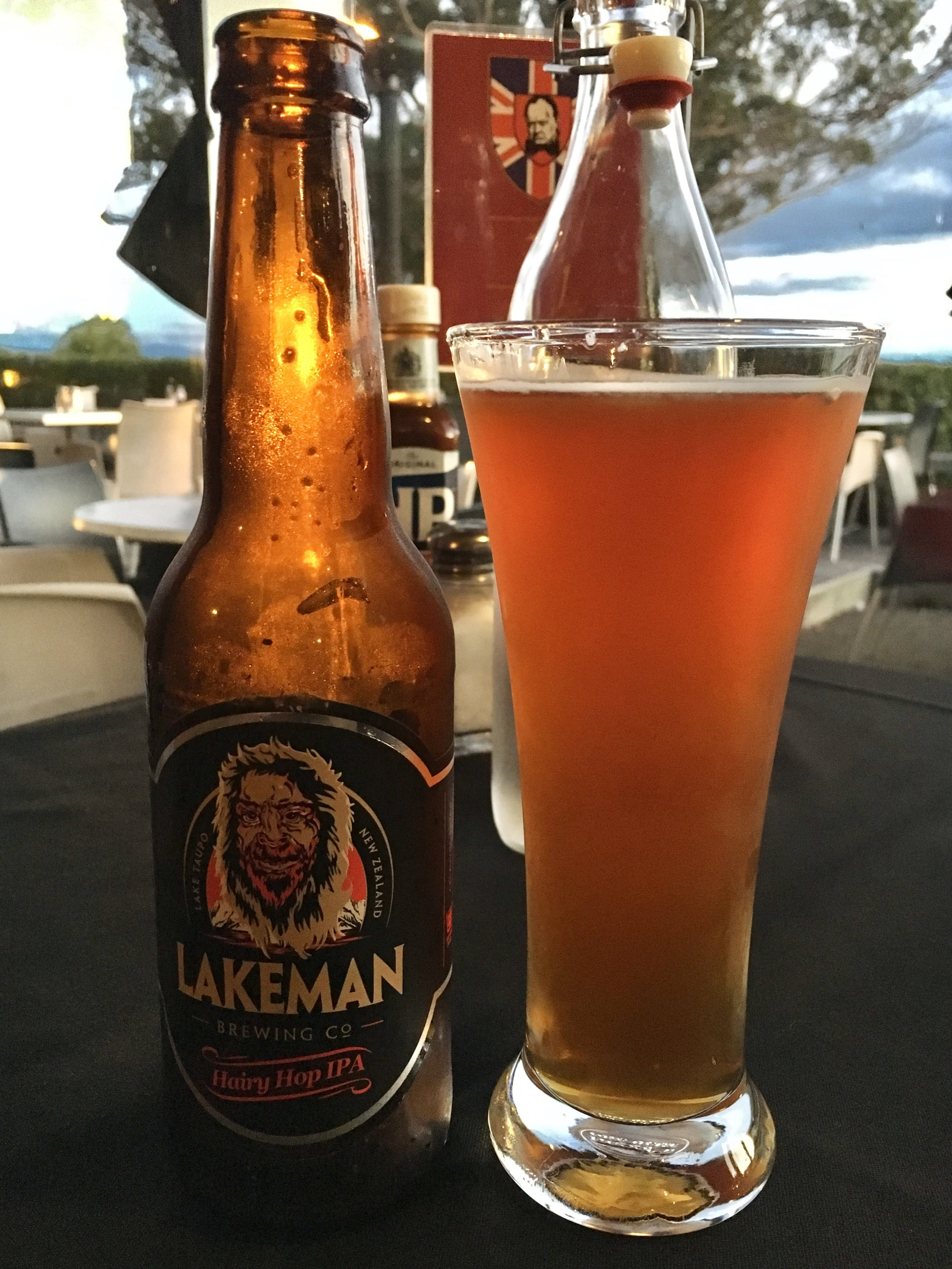 Finally found some good local craft beer! The Lakeman is the local big foot equivalent.