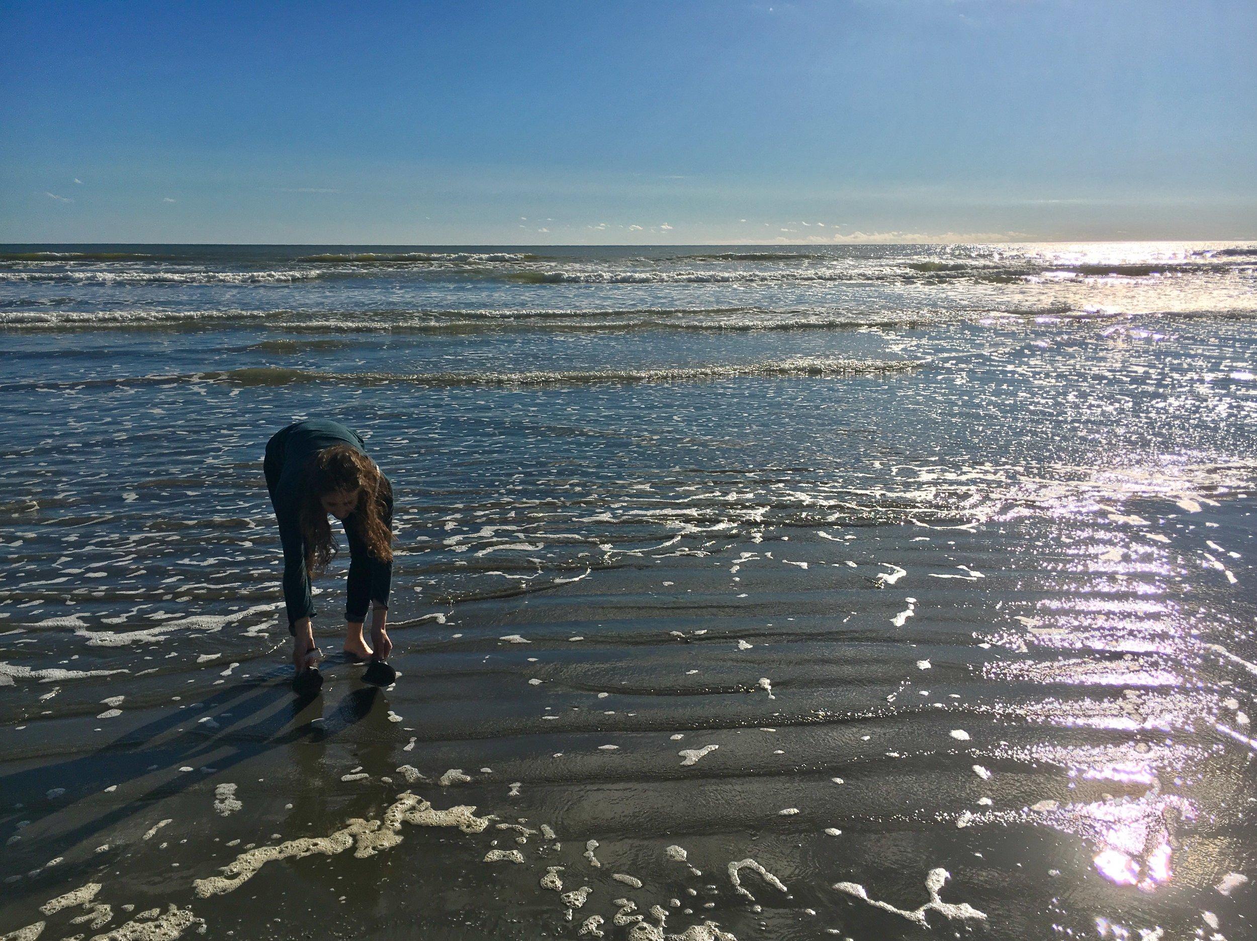 A much needed beach break