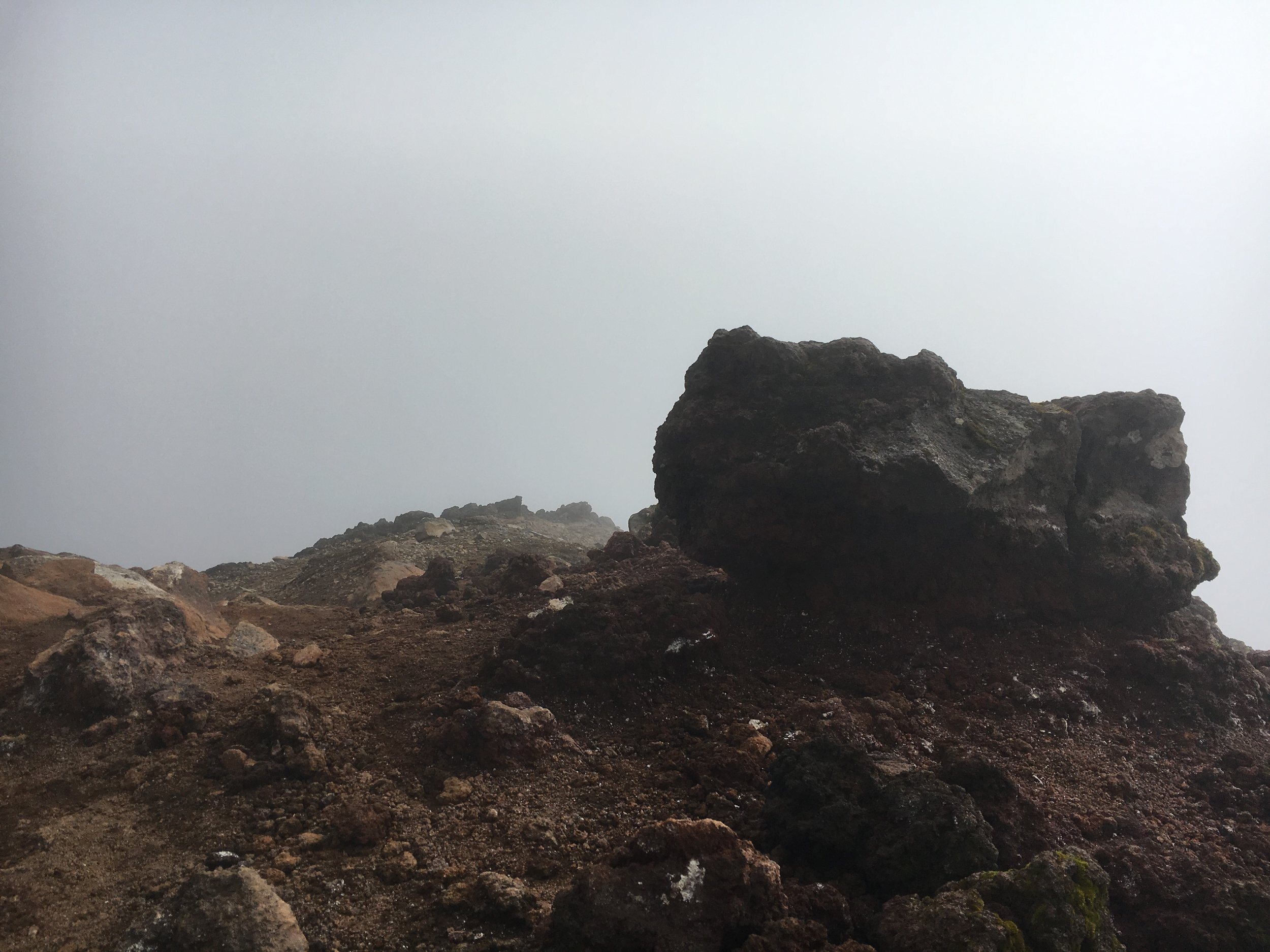 Great views from the top of Mt Doom