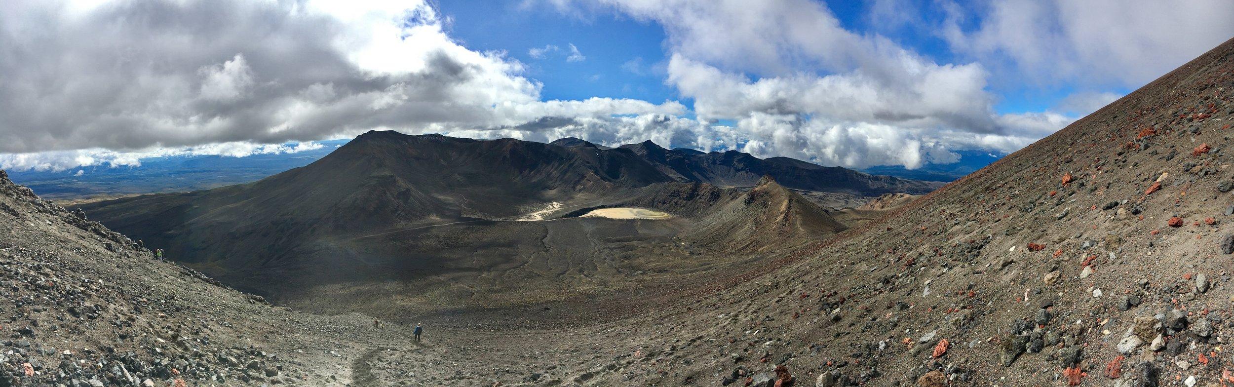 Cinder slopes