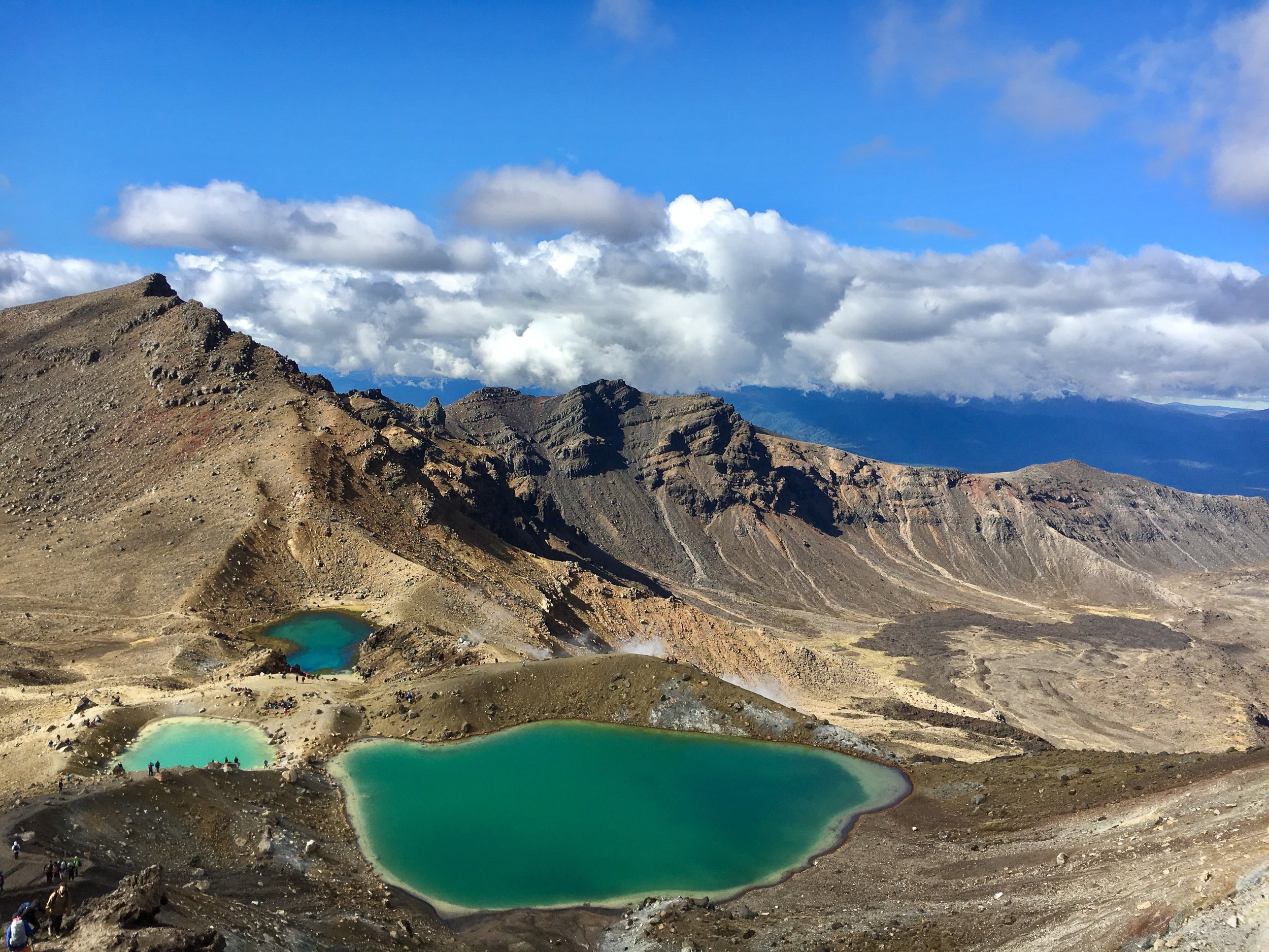 Some of the crater lakes
