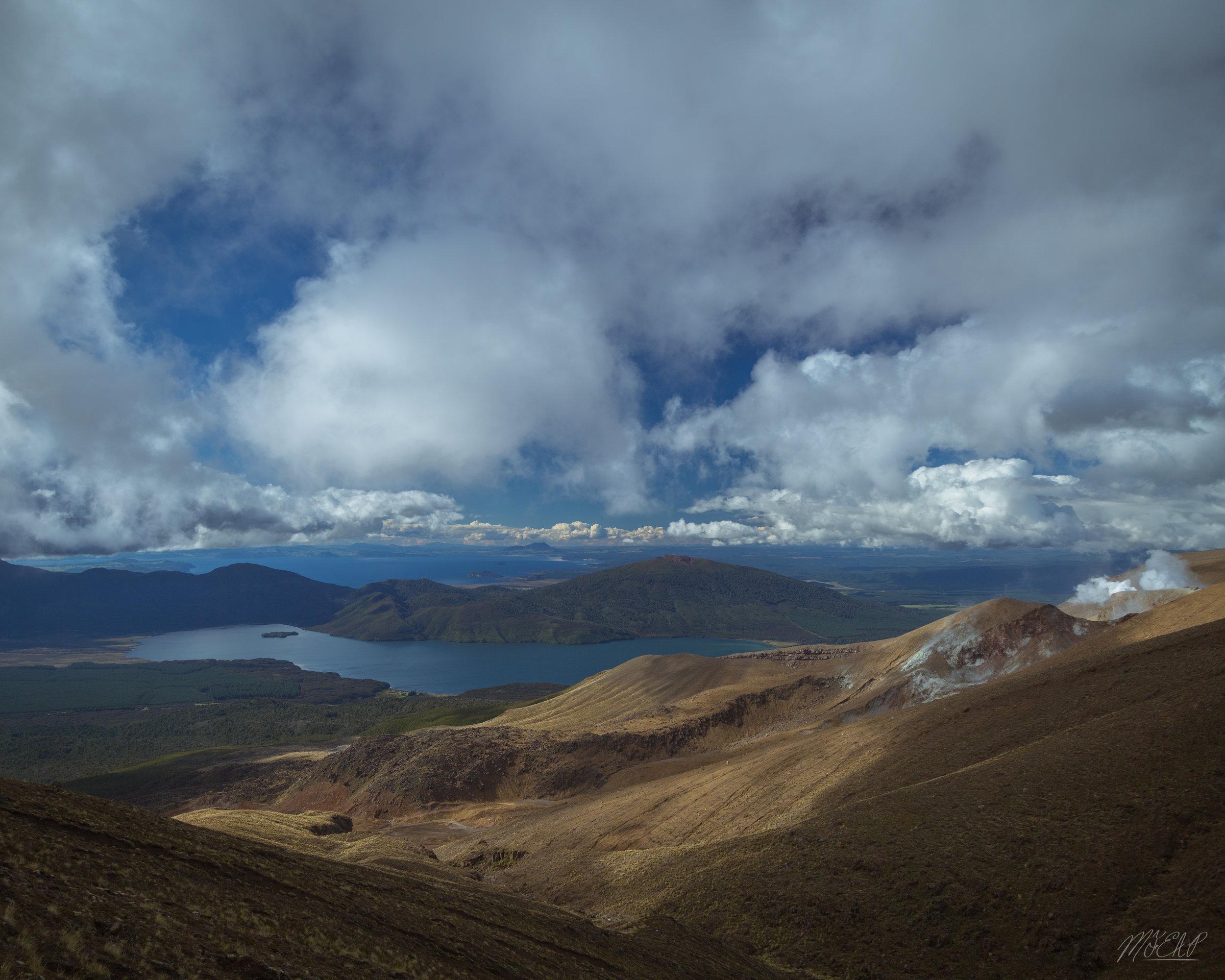 Views of lake Taupo