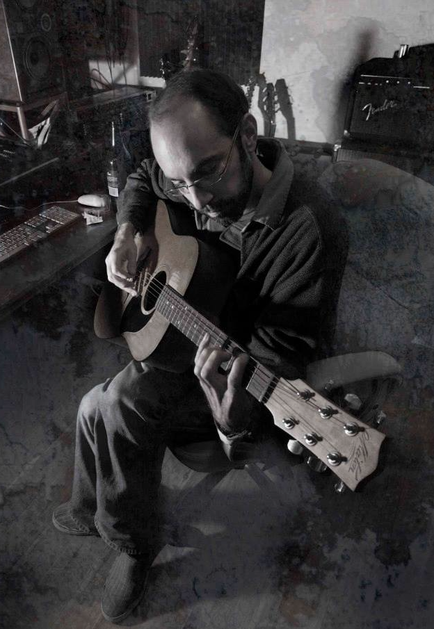 Dan Baker practises to play his part for the planet
