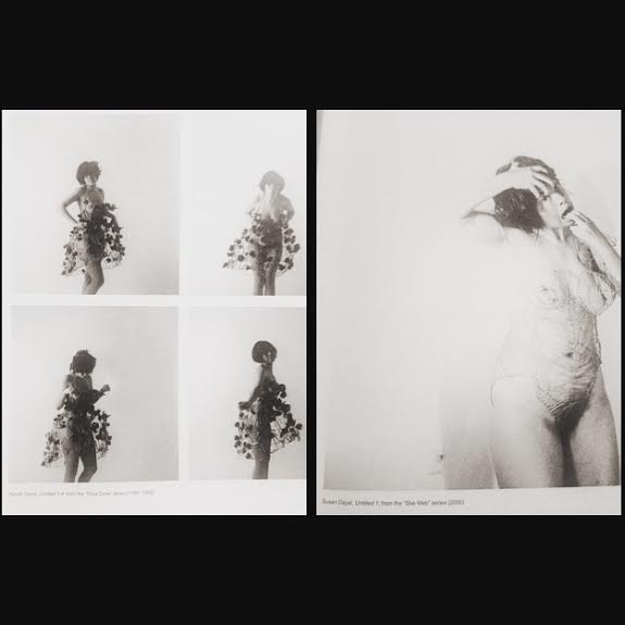 self-portraits byTrinidadian artist Susan Dayal