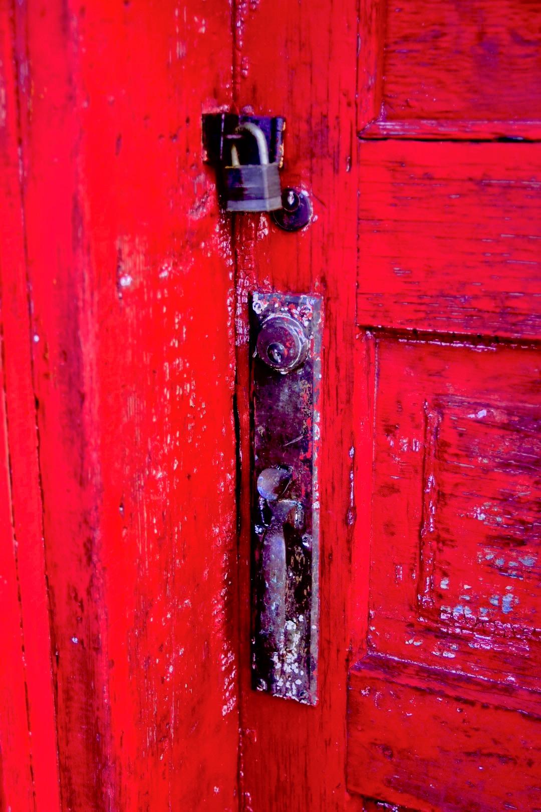 Secret Red Door