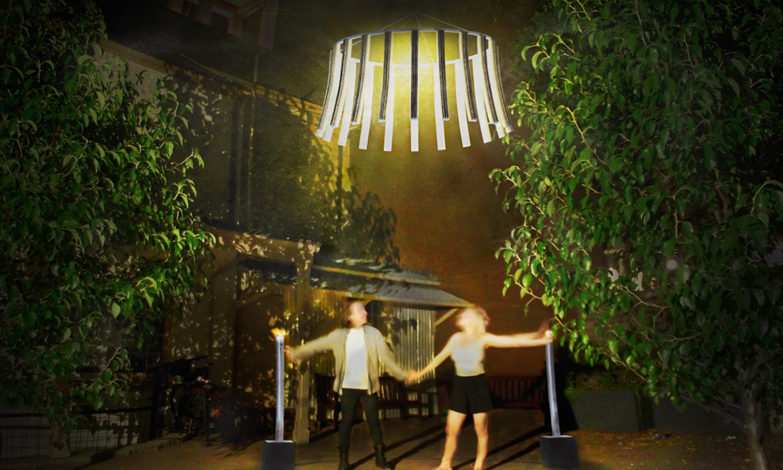 Concept render: Artists Danon Bradford and Karl Vaupel                                                                         Models: Arlen and Charlotte McCarthy