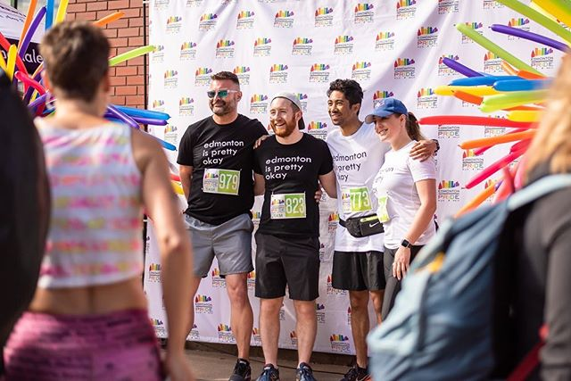 #tbt to this year's Pride Run.  A selection of photos from the talented @jeffreypaulkelly.  Link to all of our event photos and video in profile.  #yegpriderun #yegpride
