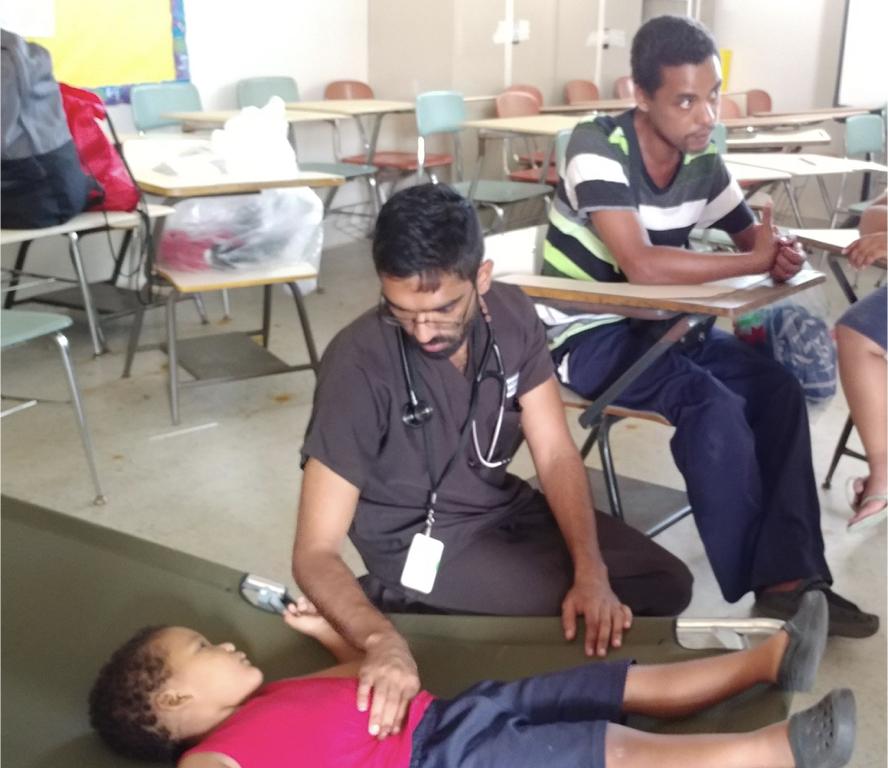Dr. A Viswanath volunteering in Puerto Rico