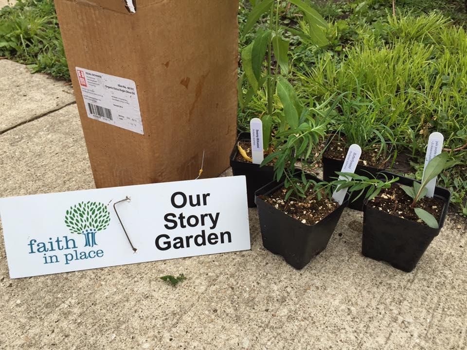 Green UUs- Story Garden (community project)