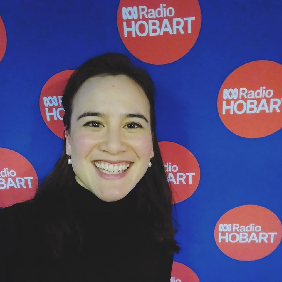 Live to air on ABC Radio Local Hobart
