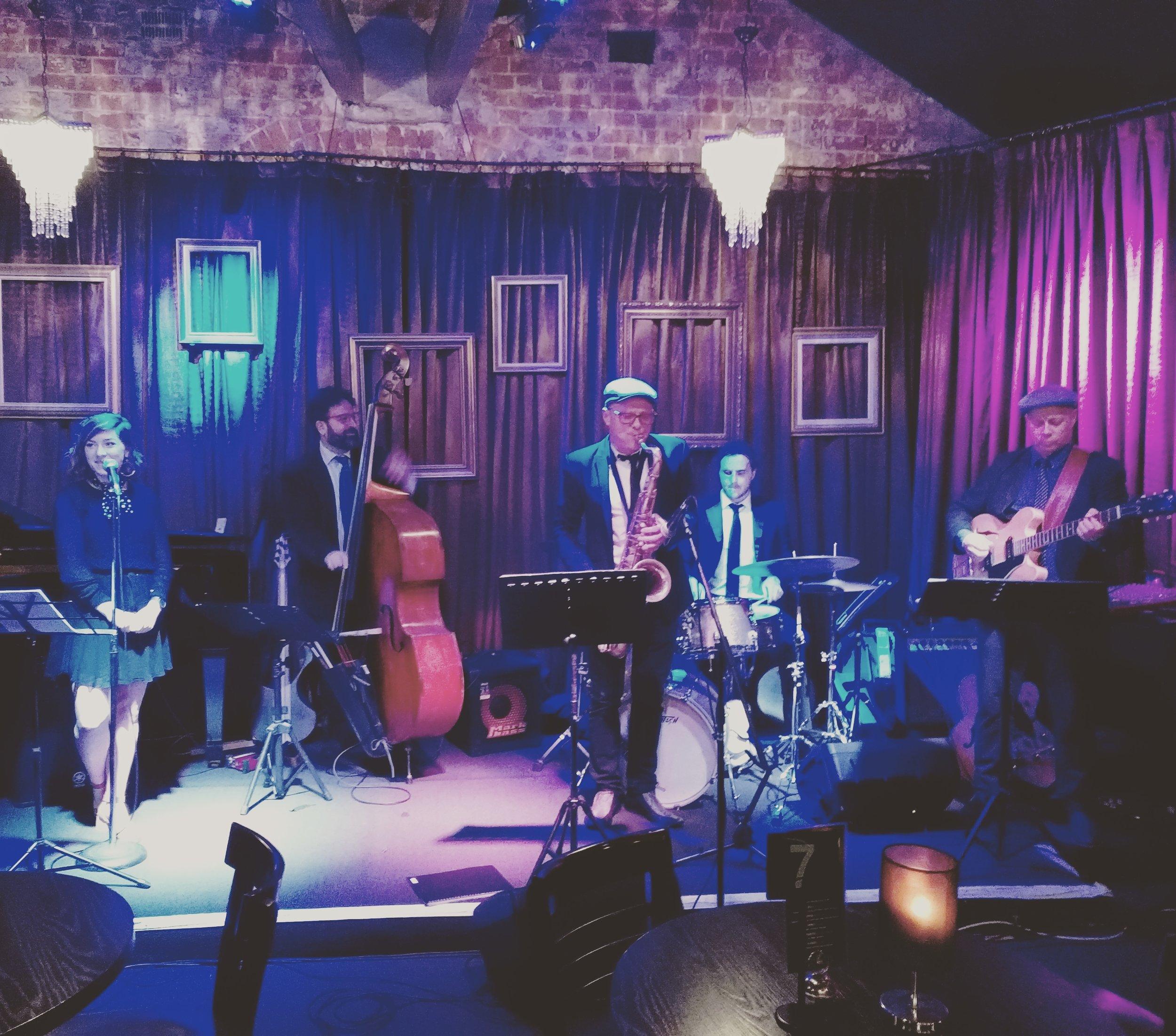 Paris Cat Jazz Club, Melbourne, Oct 2017
