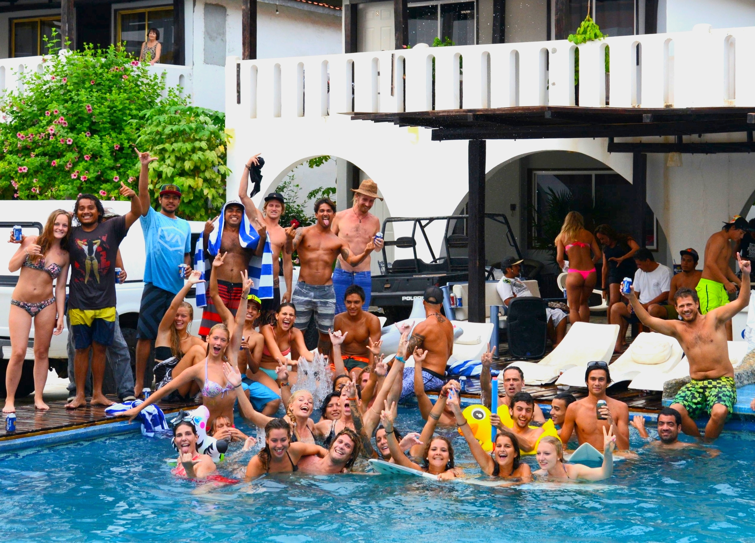 Where international Pool Parties are a usual…