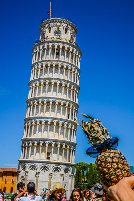 The Tower of Pisa is the third oldest structure in Pisa's Cathedral Square. It began to tilt during its construction, the ground was so soft and the foundation was not proper to support the structure's weight. The tilted increased in decades before the structure was completed and finally stabilized between the 20th and 21st century.