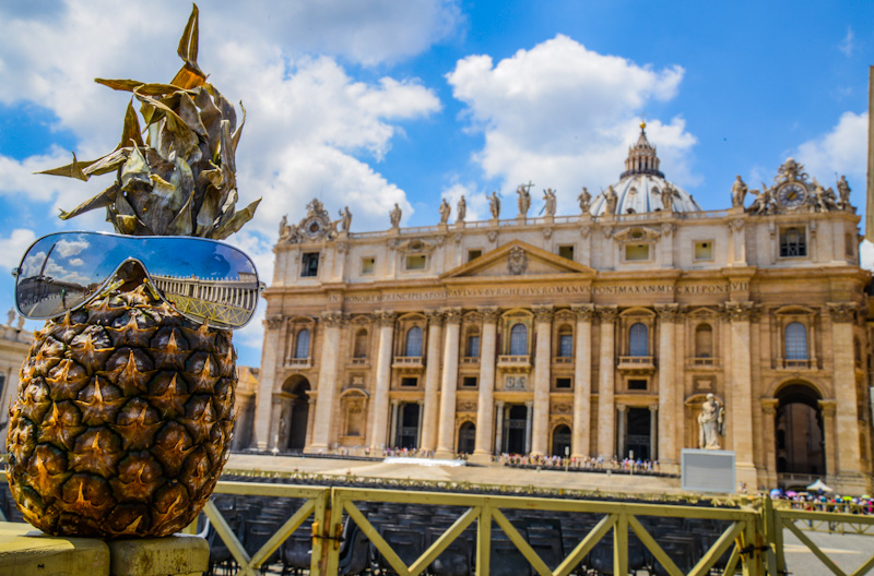 The unique economy of the Vatican City is supported financially by the sale of postage stamps and tourist mementos, fees for admission to museums, and the sale of publications.