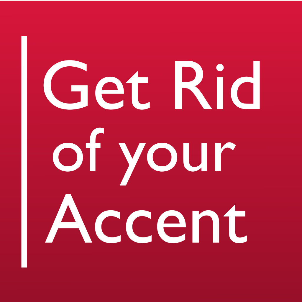 Get Rid of Your Accent UK1  Learn and practice English sounds and intonation in humorous sentences and verses. Based on elocution lessons from London drama schools. First of its kind. Intermediate level.