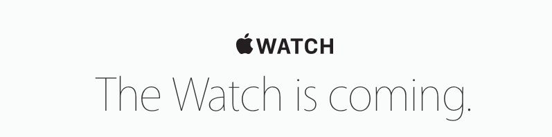 The watch is coming