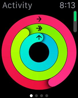 Activity on the Apple Watch
