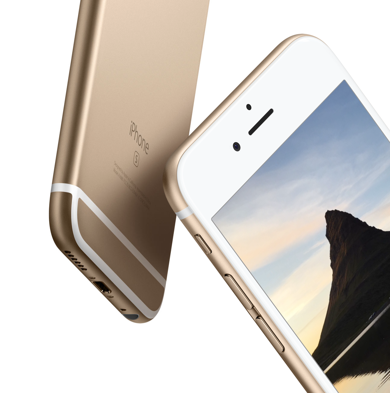 Yellow Gold iPhone 6s