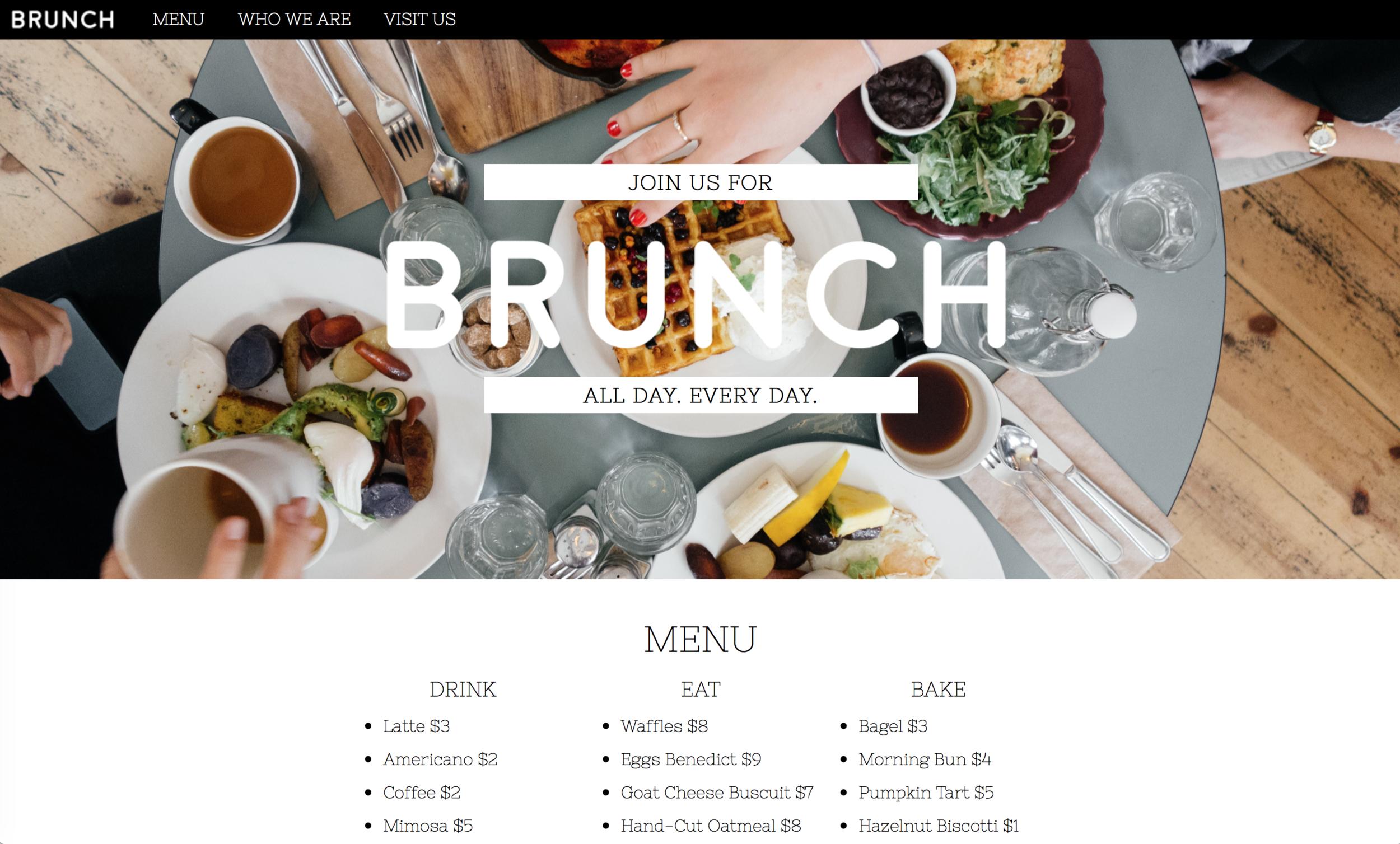 Brunch | ashleyjoanna.com & ashleybrimeyer.com/brunch