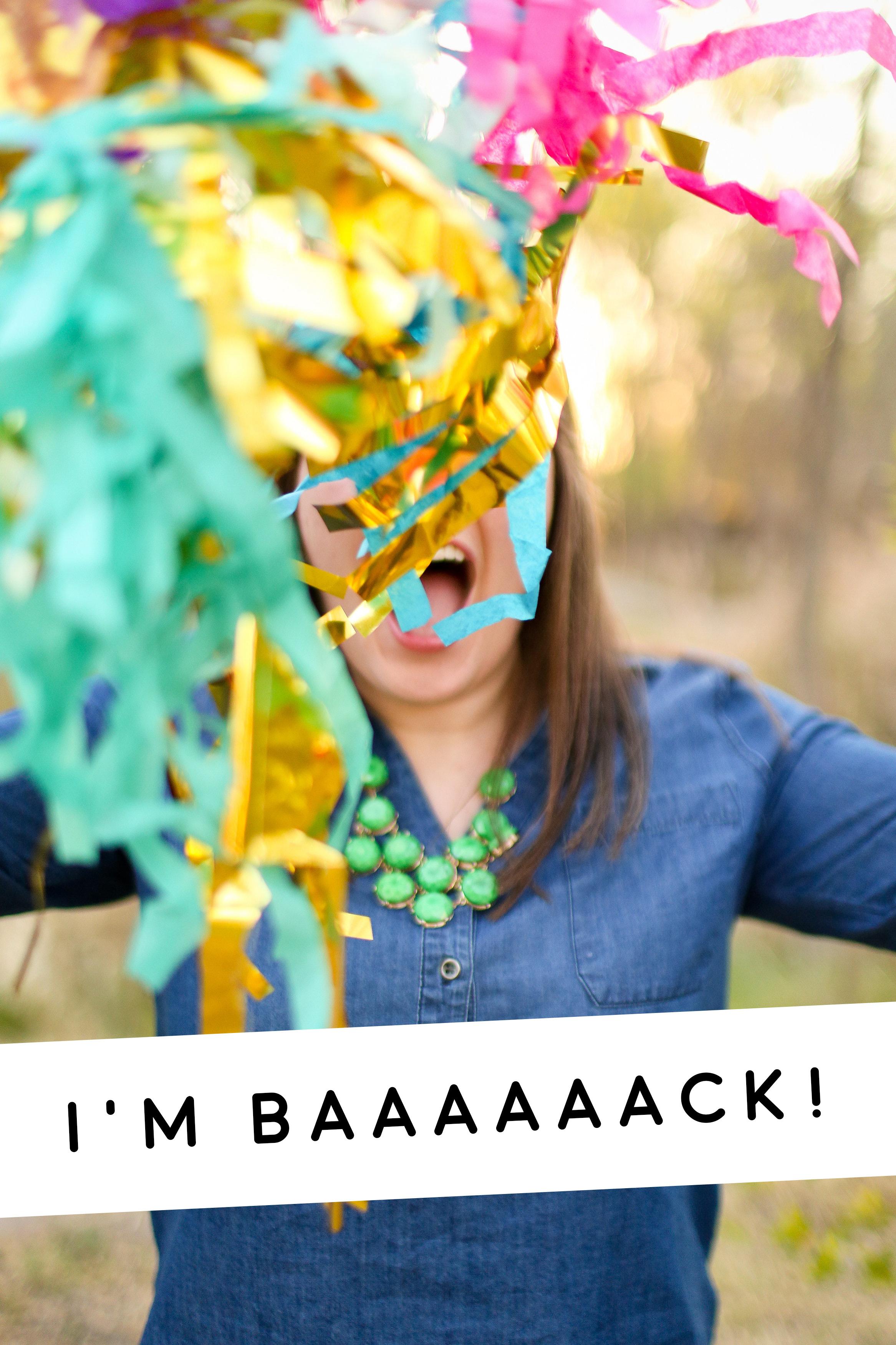 Ashley Joanna | I'm back!