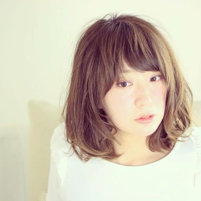 #HairStyle #Hair #Medium #long #美容室 #サロン#撮影 #冬 #カラー #サロンスタイル  #ヘアスタイル #透け感 #ボブ #WASABI_INC_GALLERY