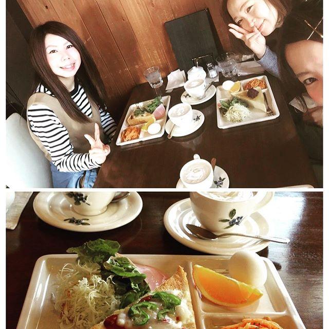 早朝の仕事後にモーニング! #卒業式 #セット#Garden #wasabi