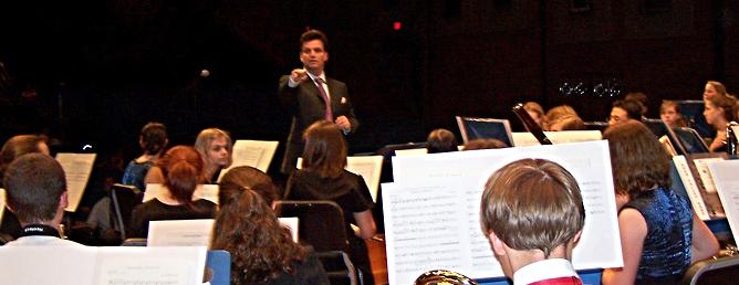20th Annual Albemarle County High School Honors Band, Crozet, Virginia