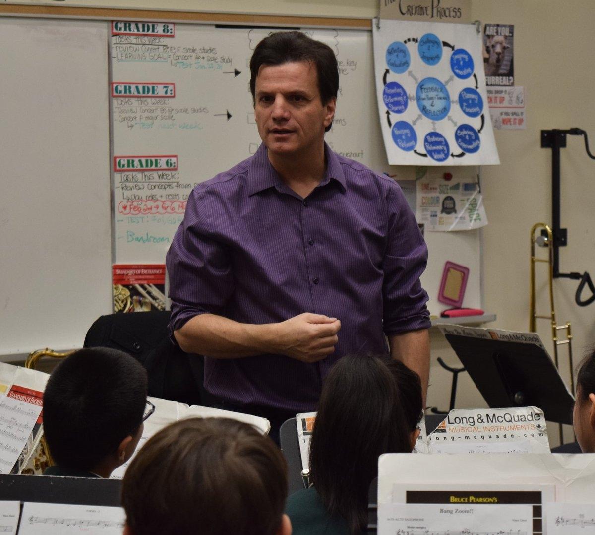 Concert Band workshop at Bayview Glen PS